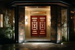 Front Door at Night Buena Vista