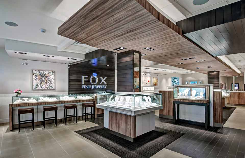 FOX Fine Jewelry Display Ventura
