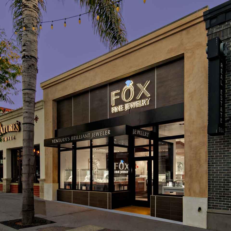 FOX Fine Jewelry Storefront Ventura