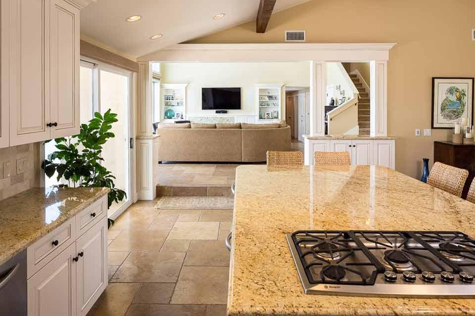 Montclair Dr. Kitchen Granite Remodel