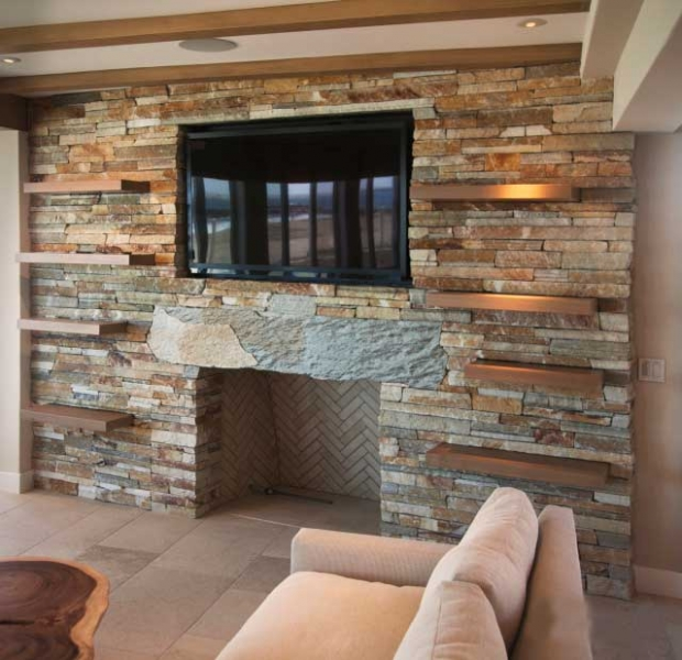Nathan Ln Fireplace Remodel